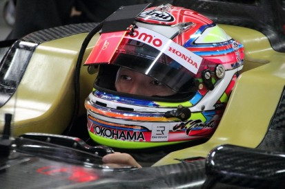Super Formula team trials Dragon Ball Z-inspired visor display