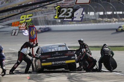Xfinity squad GMS could buy struggling BK Racing's NASCAR Cup entry