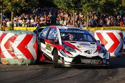 WRC Rally Germany: Toyota's Ott Tanak fastest on Thursday night