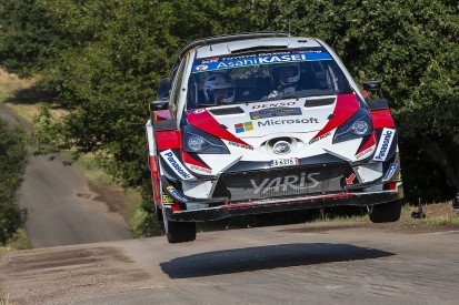 WRC Rally Germany: Ott Tanak leads as Thierry Neuville falls back