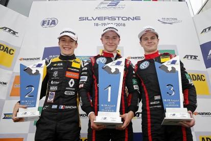 Silverstone European F3: Juri Vips holds off Sacha Fenestraz to win