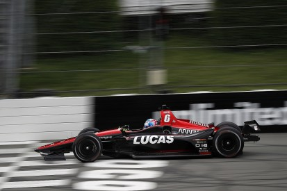 Wickens airlifted to hospital after violent Pocono IndyCar crash