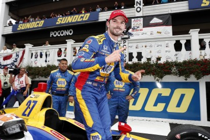 Pocono IndyCar: Rossi dominates race after delay for Wickens crash