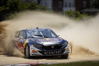Ex-GRC Honda Civic Coupe approved to compete in World Rallycross