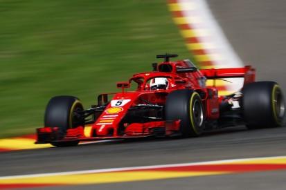 Vettel heads Verstappen and Hamilton in 2018 Belgian Grand Prix FP1