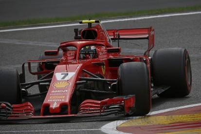 Belgian Grand Prix: Kimi Raikkonen fastest in Friday practice