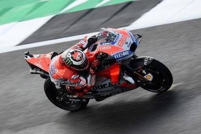 MotoGP Silverstone: Lorenzo leads Ducati one-two in qualifying