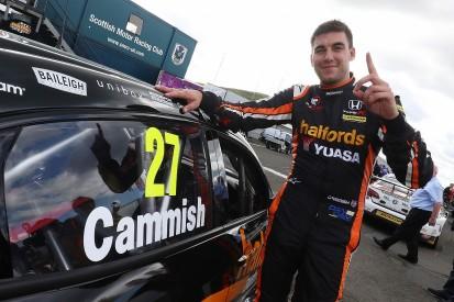 BTCC Knockhill: Cammish beats BMWs of Jelley/Jordan for maiden pole