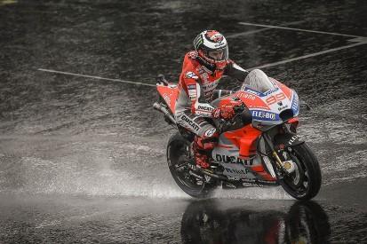 Silverstone MotoGP: Asphalt to be cut in bid to improve drainage