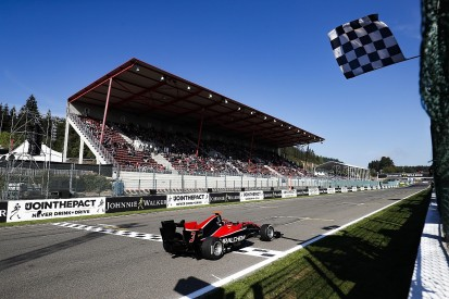 GP3 Spa: Mazepin wins race two from Hubert to head ART 1-2-3-4
