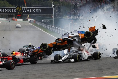 Alonso baffled by Hulkenberg's Belgian GP start crash driving