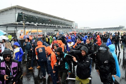Silverstone MotoGP race cancelled due to rain