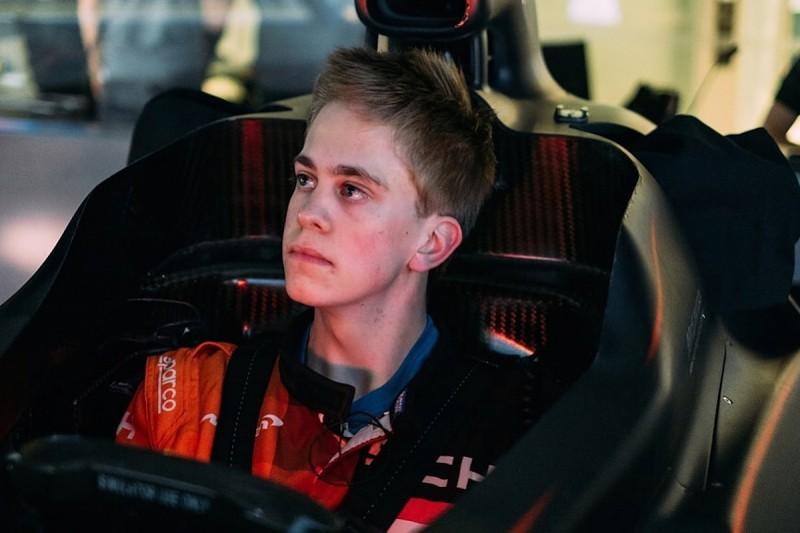 McLaren's WFG runner-up Freek Schothorst gets Formula Eurocup drive