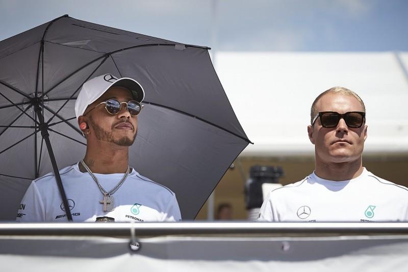 Mercedes to make Bottas/Hamilton team orders call after Italian GP