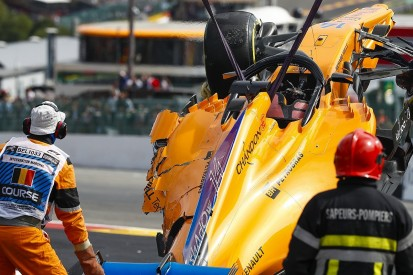 Alonso gets new McLaren F1 chassis for Italian GP after Spa crash
