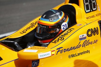 McLaren F1 driver Alonso will test 2018-spec Indycar next week