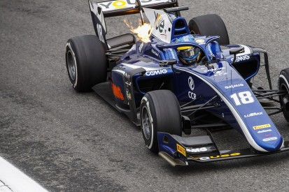 F2 Monza: Carlin's Sette Camara fastest in wet-dry practice session