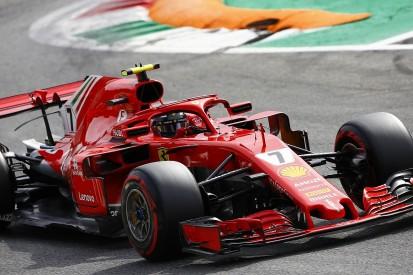 Raikkonen beats Vettel and Hamilton to pole in Monza qualifying