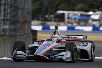 IndyCar Portland: Power leads Penske qualifying 1-2, Dixon flounders