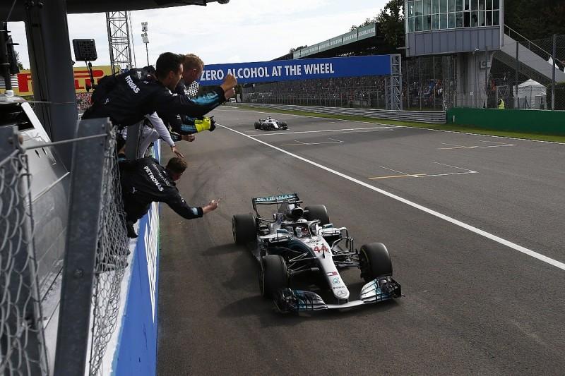Hamilton grabs Italian GP win from Raikkonen; clashes with Vettel