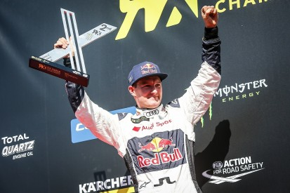 WRX France: PSRX Volkswagen's Johan Kristoffersson recovers to win
