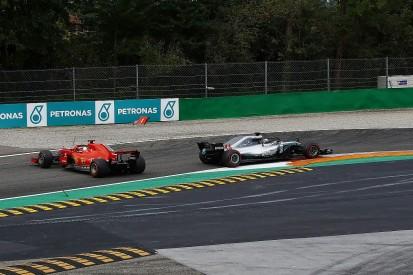 Sebastian Vettel: Lewis Hamilton squeezed me into Italian GP spin