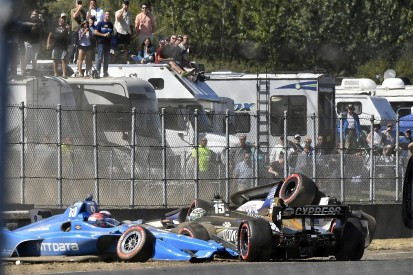 Scott Dixon 'wanted to cry' after first-lap Portland IndyCar crash