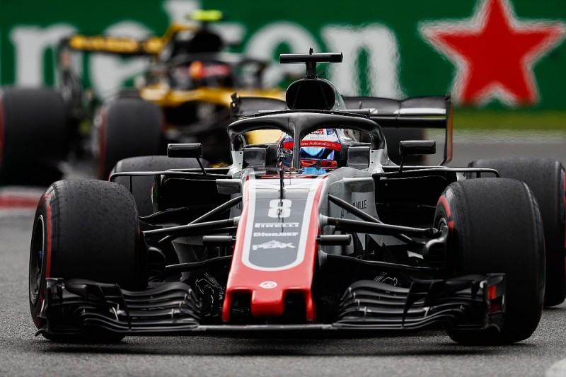 Haas F1 team lodges appeal after Grosjean Italian GP exclusion