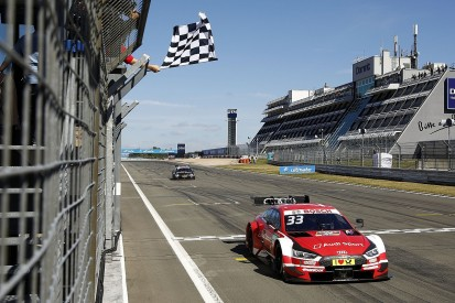 DTM Nurburgring: Rast wins scrappy race as di Resta finishes last