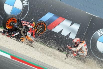 MotoGP Misano: Marquez had 'small stone' in his eye during last run