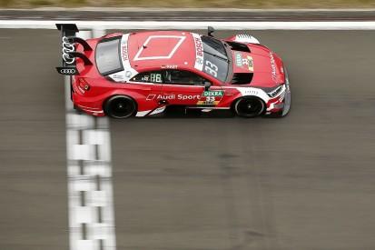 DTM Nurburgring: Rene Rast completes clean sweep in race two