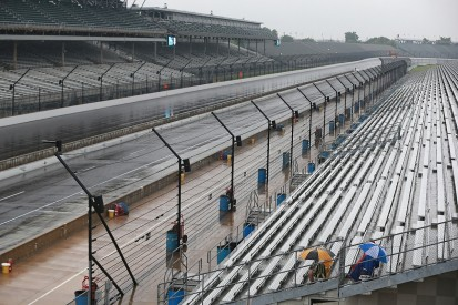 NASCAR Indianapolis: Heavy rain postpones running of Brickyard 400