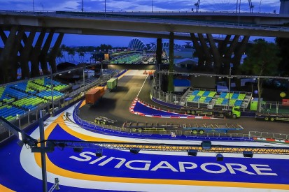 Minor changes to Singapore Formula 1 track for 2018 grand prix