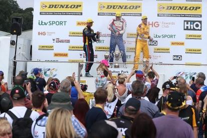 BTCC Oulton Park: Matt Simpson scores strong first BTCC victory