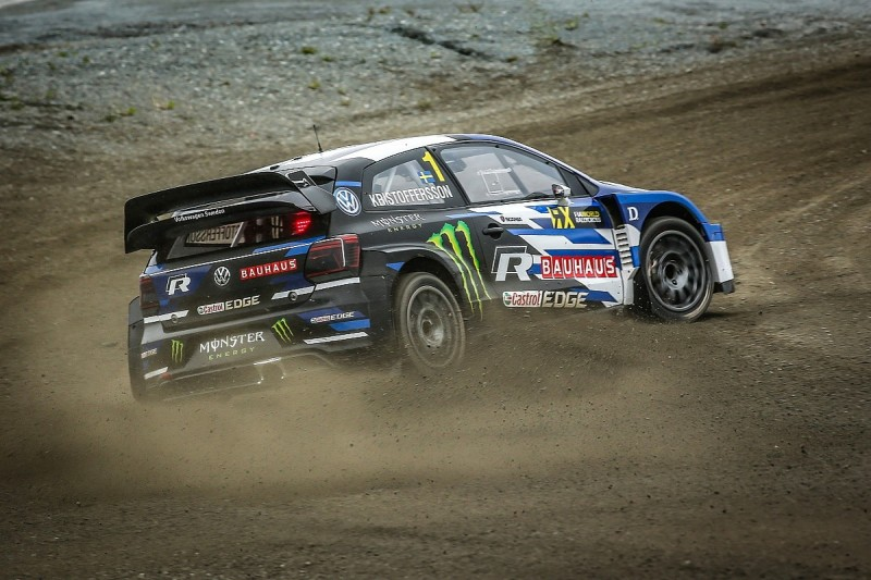 World RX Hell: Johan Kristoffersson takes a fourth win from five