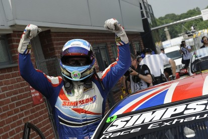 How Matt Simpson became the BTCC's newest race-winner