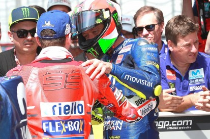 Valentino Rossi: 'Stupid' to rule Jorge Lorenzo out of MotoGP title