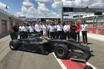 New Super Formula SF19 car completes first shakedown running