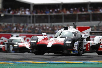 Le Mans 24 Hours: Toyota holds early one-two after frantic start