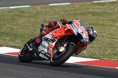 Barcelona MotoGP: Lorenzo wins attritional race, Marquez second