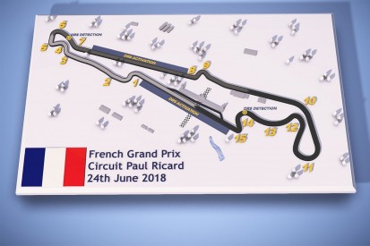Paul Ricard circuit to feature two DRS zones for F1 French GP