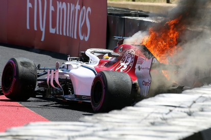 Crash rules Marcus Ericsson out of French Grand Prix practice two