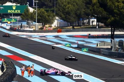 FIA will investigate why Sergio Perez lost a wheel in F1 practice