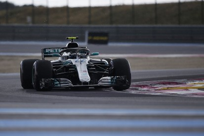 French Grand Prix FP3: Bottas fastest in rain-hit session
