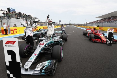 French Grand Prix qualifying: Hamilton leads all-Mercedes front row