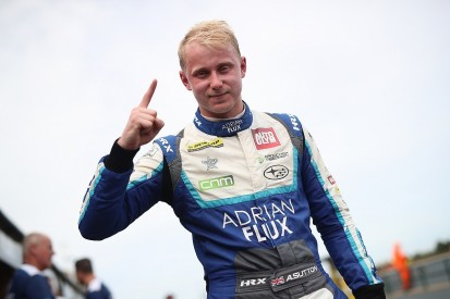 Croft BTCC: Sutton ends pole drought, leads Plato in Subaru one-two