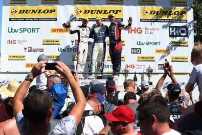 BMR's Ashley Sutton doubles up with second BTCC Croft win