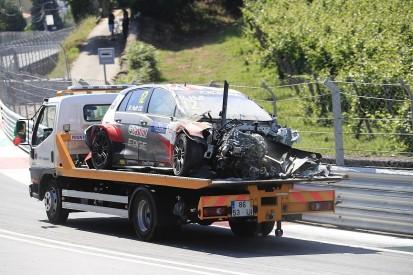 Sebastien Loeb Racing WTCR VWs 'destroyed' in Vila Real crash