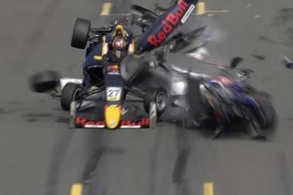Vaidyanathan 'devastated' over huge Norisring F3 crash with Ticktum