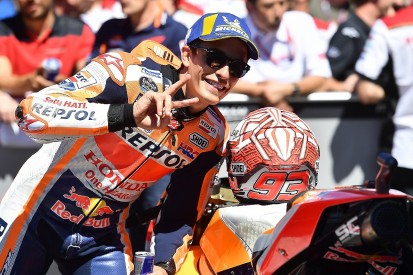 Assen MotoGP: Marquez secures pole, Rossi third after FP4 crash